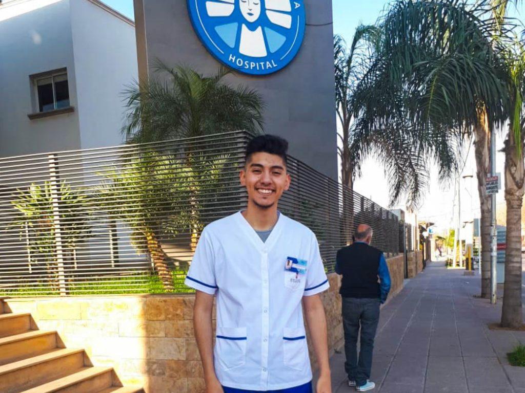 Emiliano Vera estudiante de Farmacia